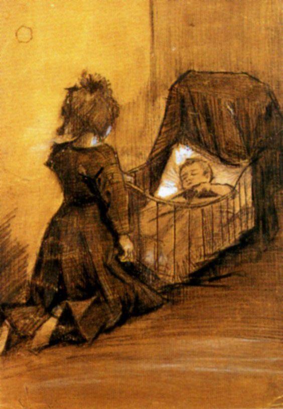 V. Van Gogh, 1883; The Hague, Netherlands; Van Gogh Museum, Amsterdam.