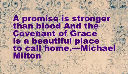 A Promise is Stronger than Blood quote