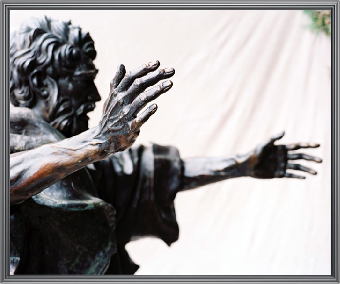 Peter sculpture