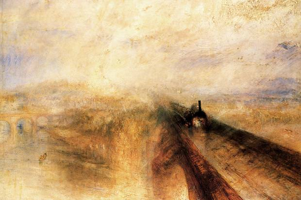 Rain, Steam and Speed by JMW Turner (1775-1851), 1844, National Gallery, London