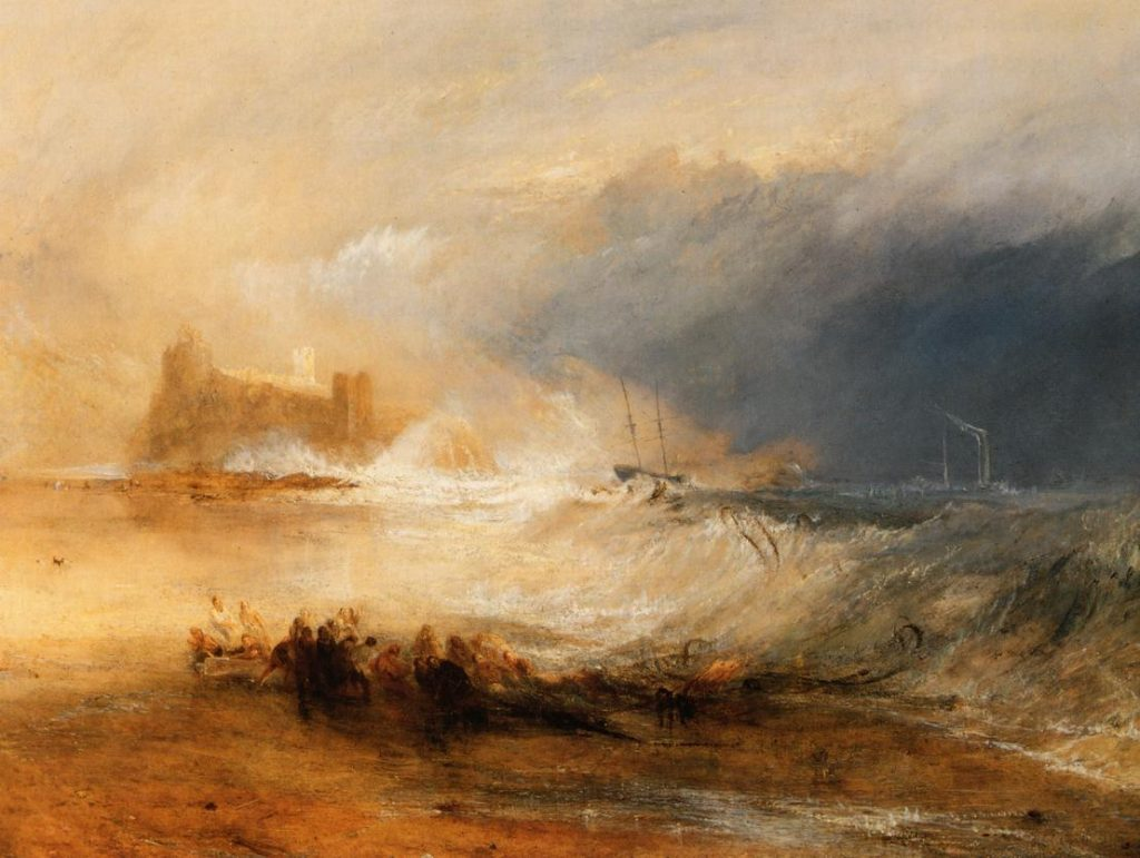 """Wreckers"" by JMW Turner."