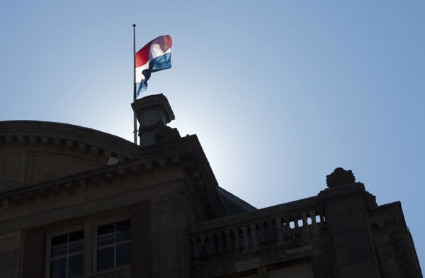 Mourning in Netherlands