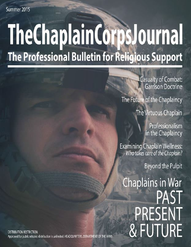 The Chaplain Corps Journal | Summer 2015