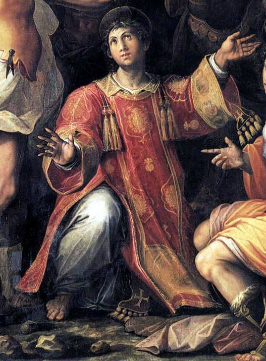 Saint Stephen the Martyr.