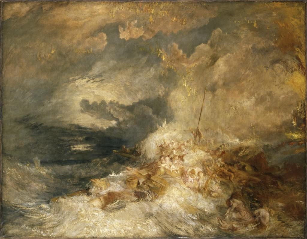 A Disaster at Sea ?c.1835 Joseph Mallord William Turner 1775-1851 Accepted by the nation as part of the Turner Bequest 1856 http://www.tate.org.uk/art/work/N00558