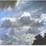 Cloud Study 1821, John Constable. Yale Centre For British Art, Hartford, Connecticut.