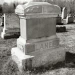 Tomb of John Randolph Lane (1835-1908). Brush Creek Baptist Church, Chatham County, North Carolina.