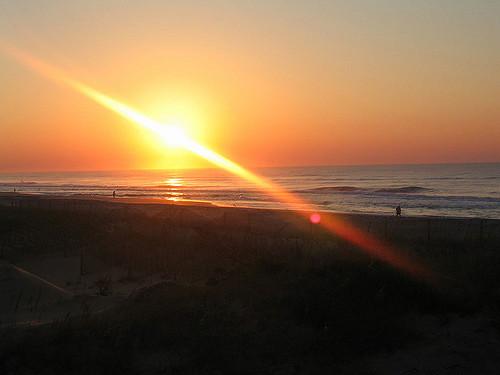Image: Public domain. A North Carolina sunrise.