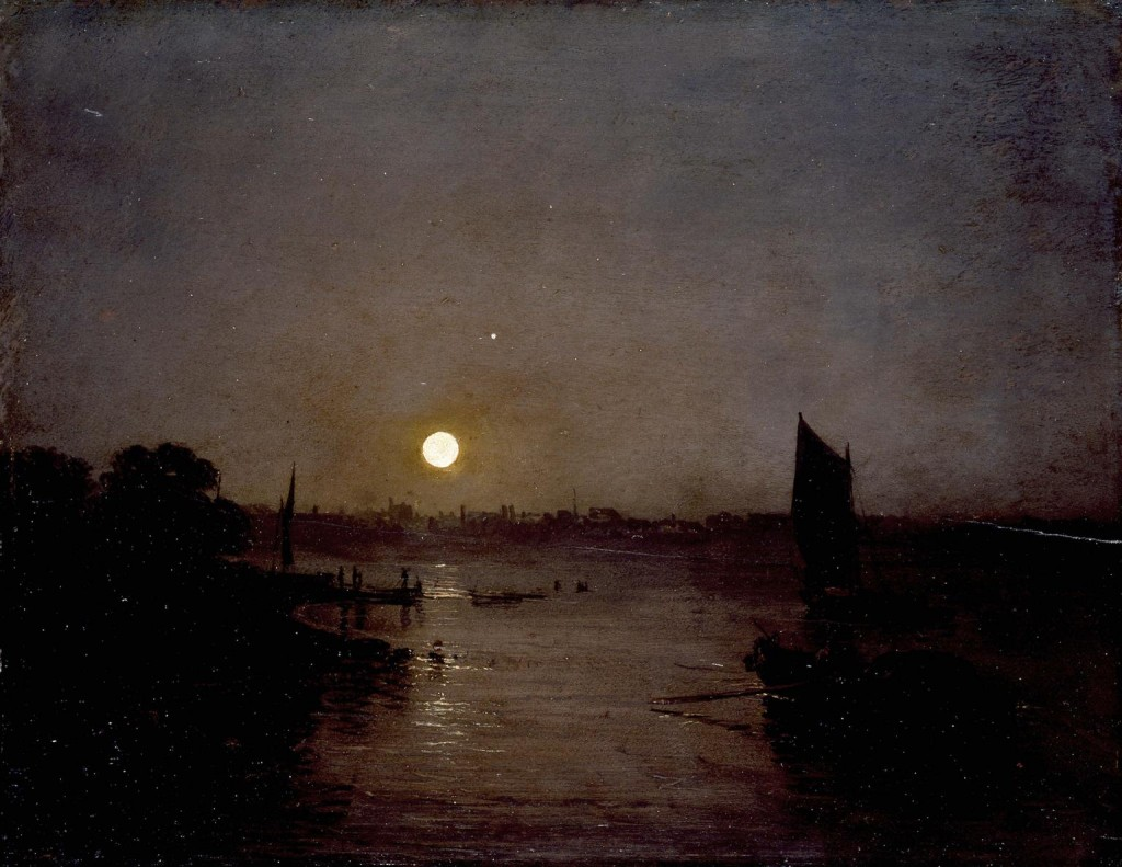 Moonlight, a Study at Millbank exhibited 1797 Joseph Mallord William Turner 1775-1851 Accepted by the nation as part of the Turner Bequest 1856 http://www.tate.org.uk/art/work/N00459